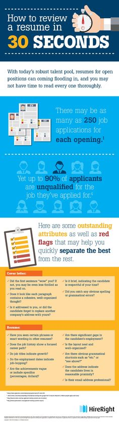 How to Evaluate a CV in 30 Seconds