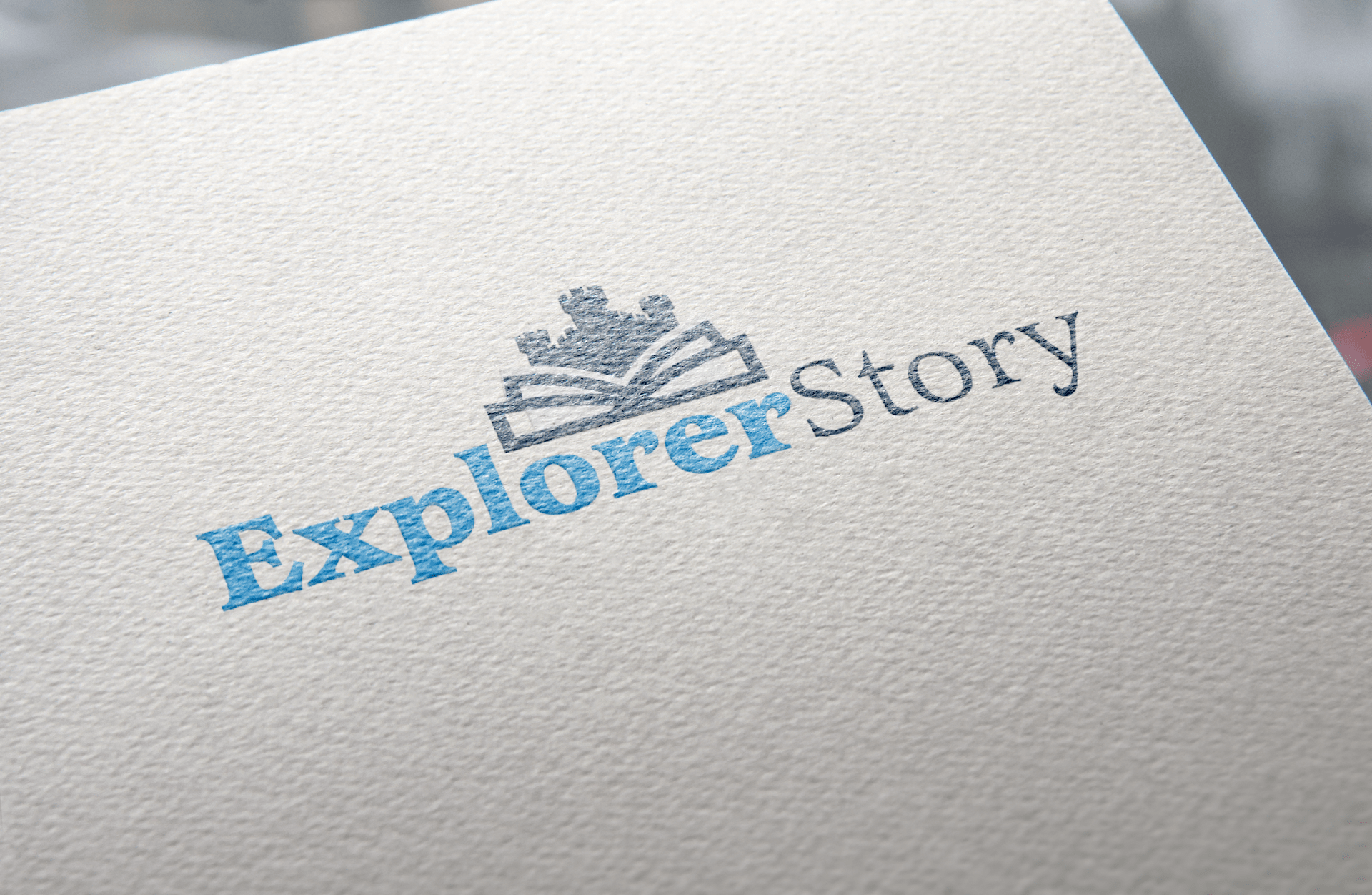 Logo Design for Explorer Story