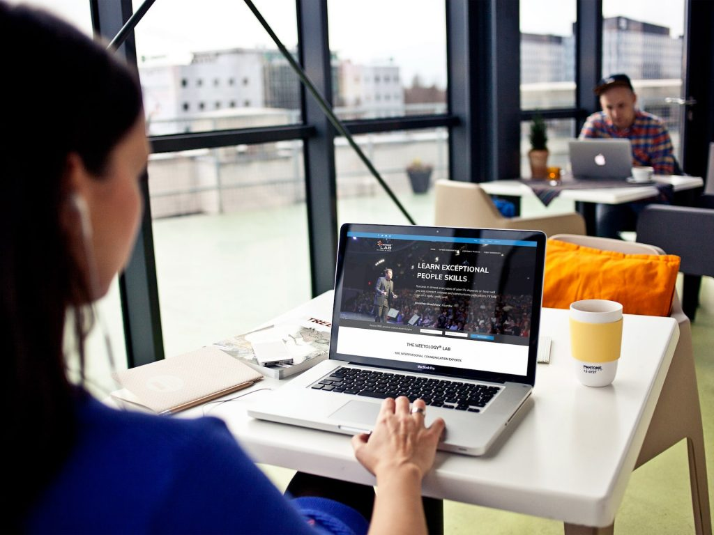 Meetology Lab Website Design