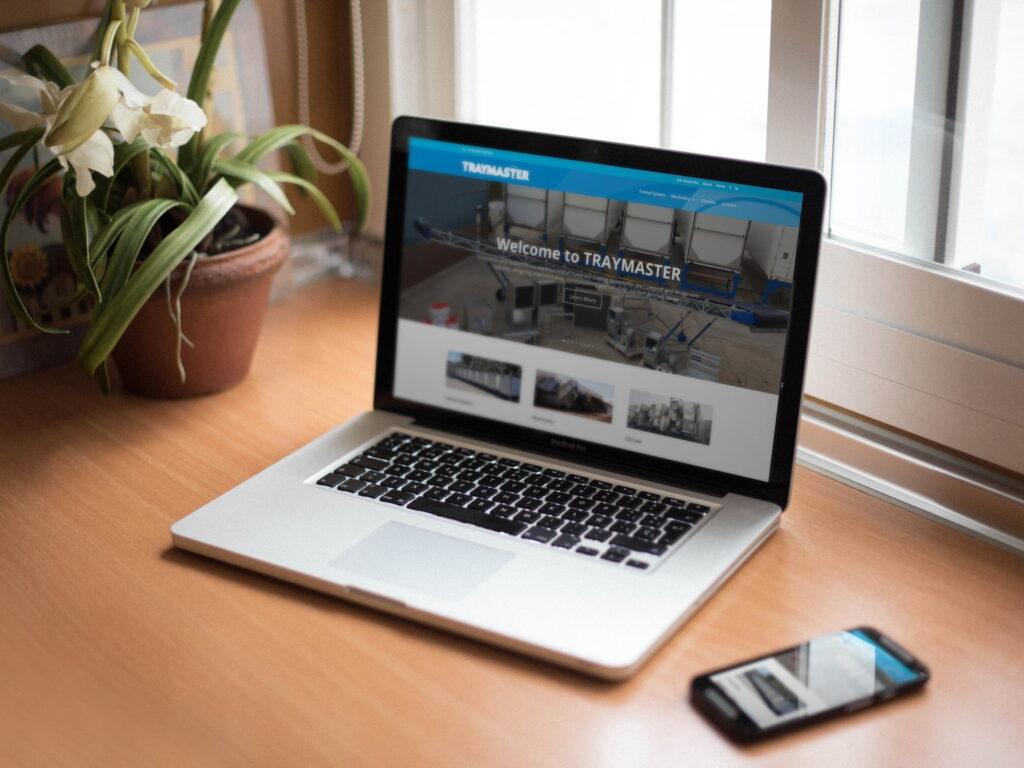 WordPress website for Traymaster