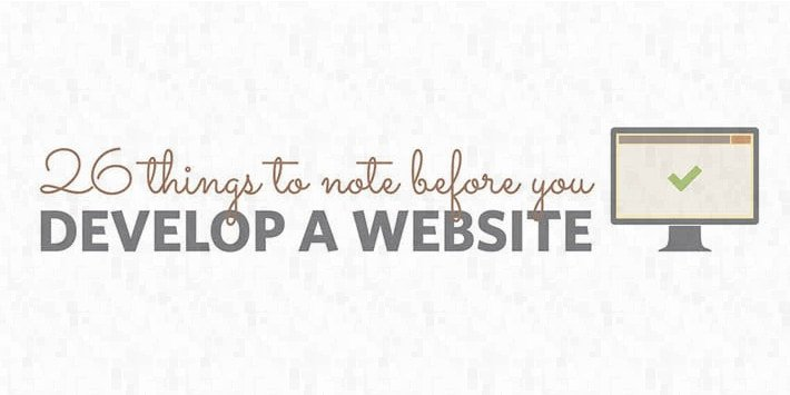 26 things to think about when designing a new website
