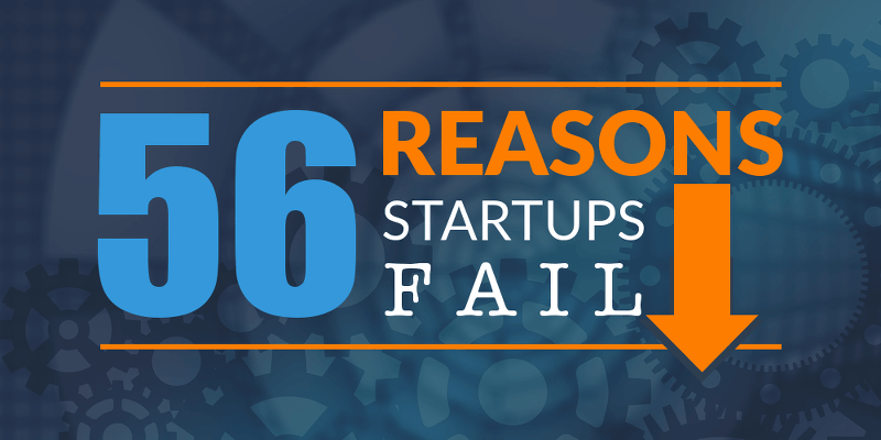 56 reasons startups fail