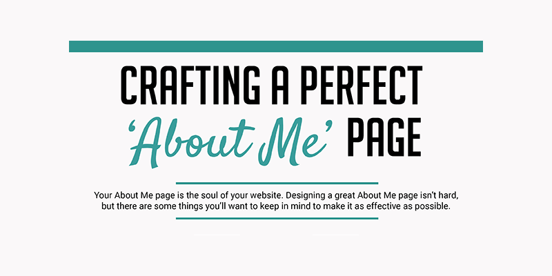 6 steps to craft the ultimate about me page