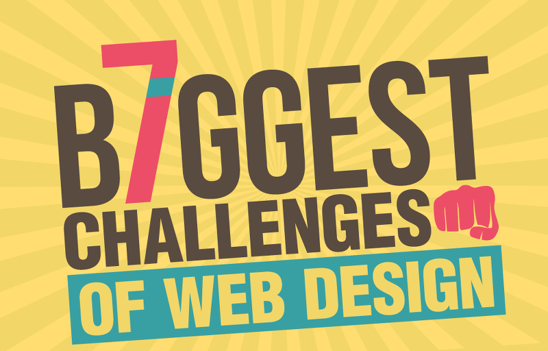 7 challenges of great web design