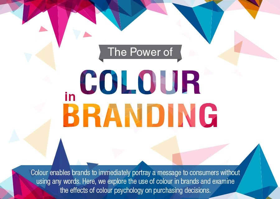 How colour is used by the biggest brands