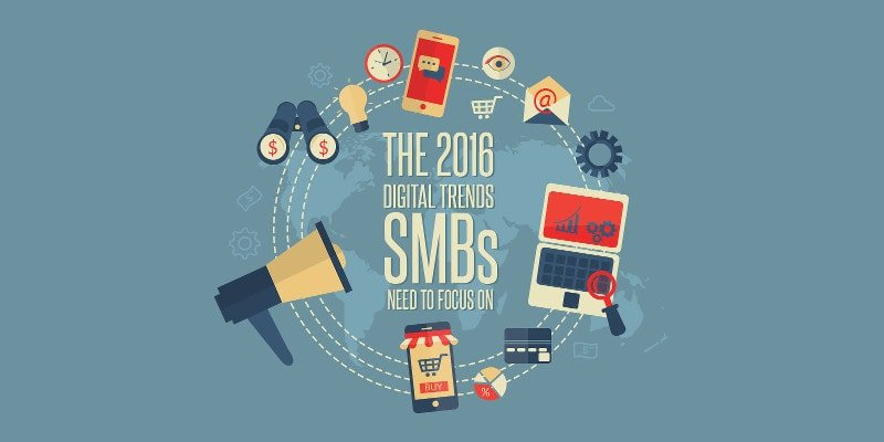 2016 Digital marketing trends guide for SMBs