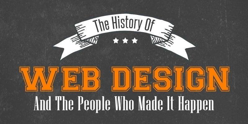 The Evolution of Web Design 1990 – 2016