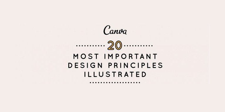 20 Graphic Design Principles to Improve Your Content