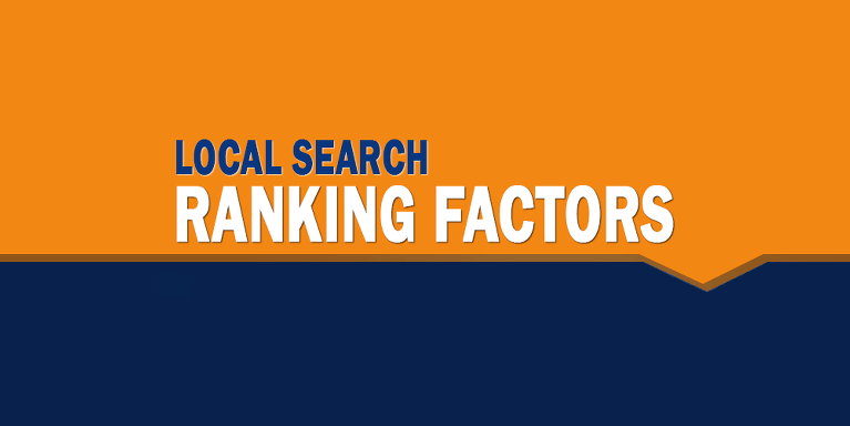 10 Ranking Factors for Local Search