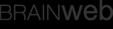 BrainWeb website design logo