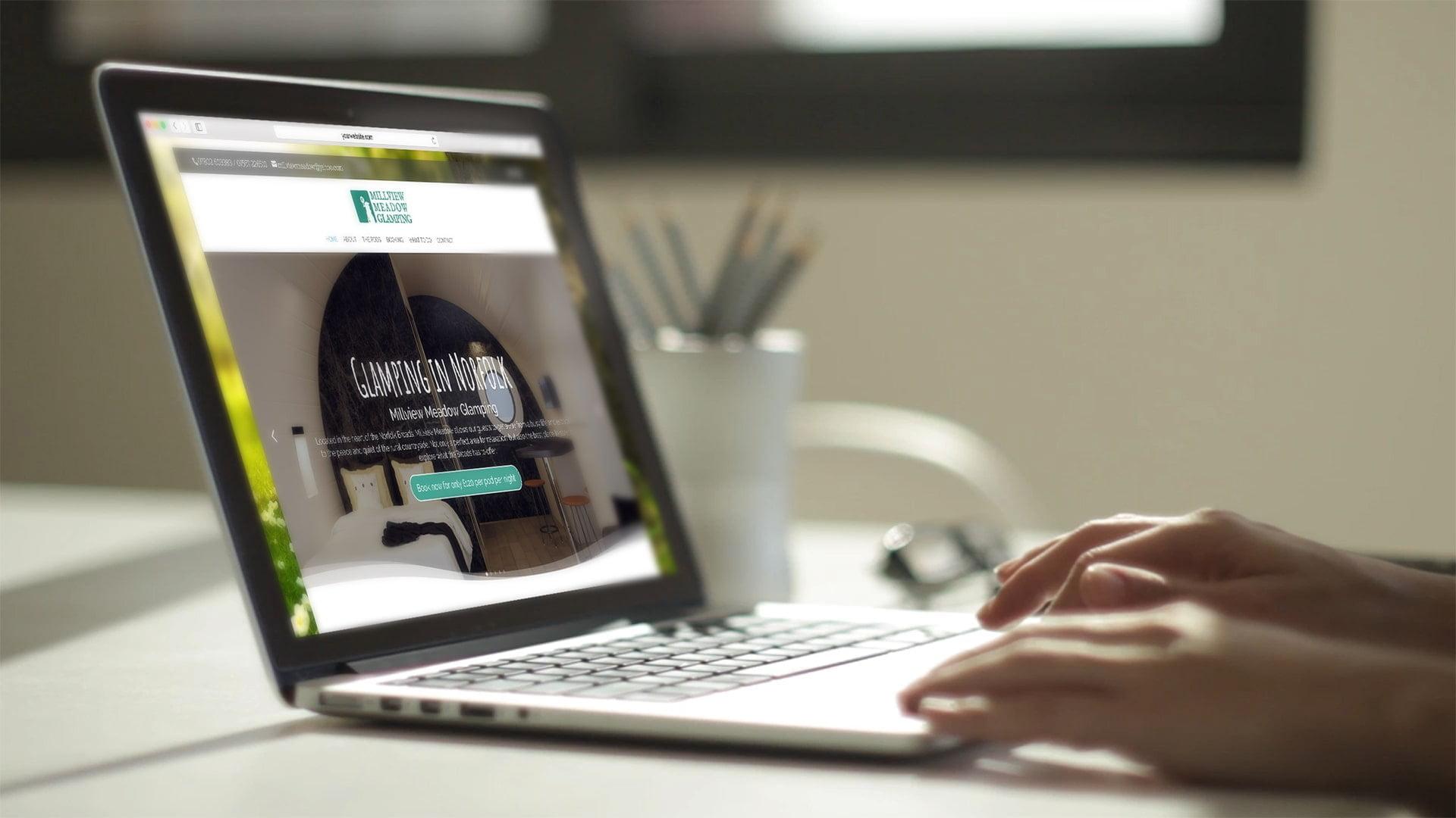 Website Design for Millview Meadow